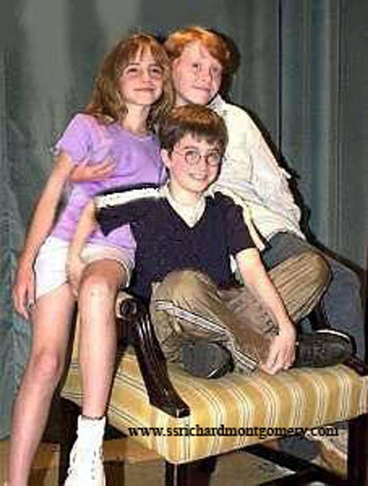Голые фото подружки гарри поттера 4428 фотография