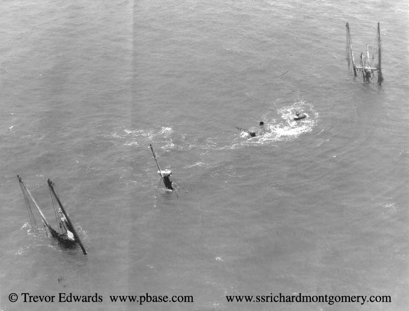 photo ss richard montgomery aerial view